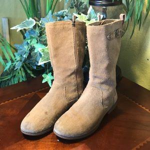 UGG Morgan Brown Zip Up Boots